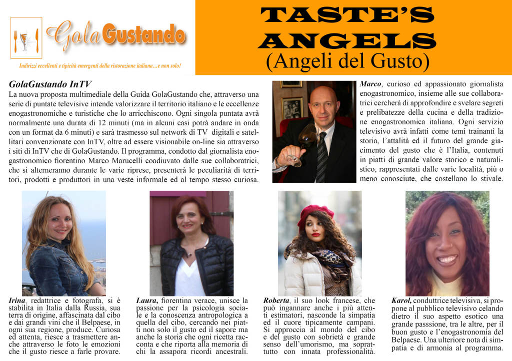 Bozza file TASTE'S ANGELS