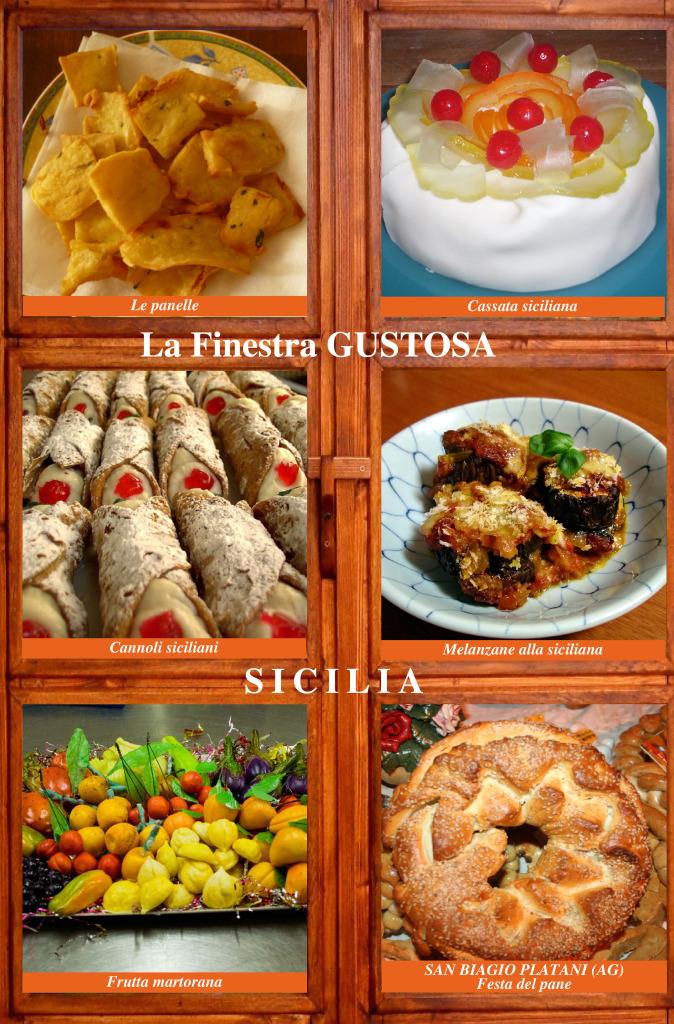 SICILIA FINESTRA GUSTOSA