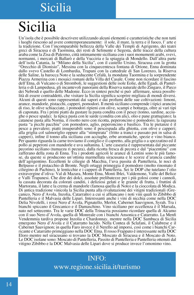 SICILIA TESTO