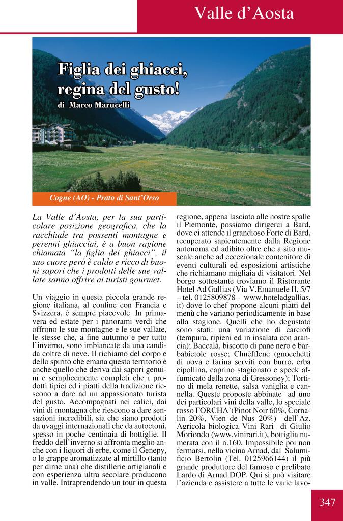 VALLE AOSTA REDAZIONALE PAG1